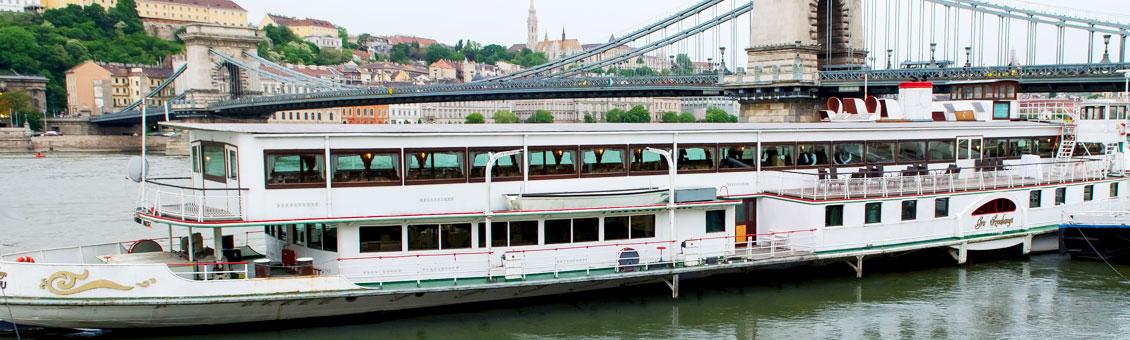 Dunai rendezvényhajó bérlés - Budapest Hajóbérlés